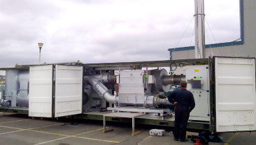 US Army Containerised Pyrolysis Plant